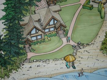 Mya beach luxury townhomes sproat lake
