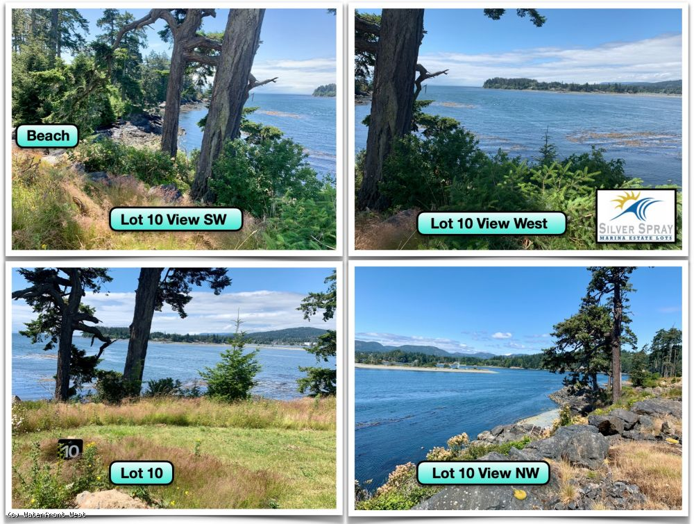 Silver Spray Marina Estate Lots - Sooke, B.C., Vancouver Island Oceanfront & Ocean View Lots