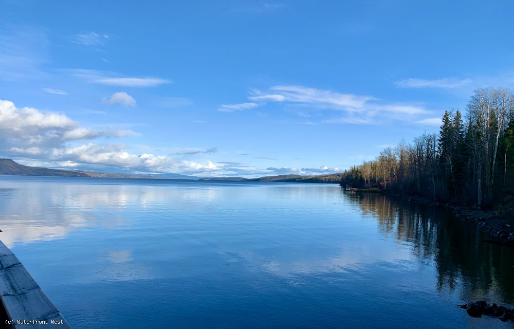 Stunning Lakeshore Lot - Francois Lake