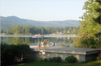 Shuswap Lakefront Home with Dock, Boat House & 2 Storey Garage